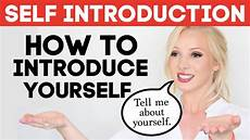 How To Introduce Yourself In An Interview Self Introduction How To Introduce Yourself In English