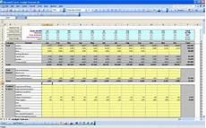 P L Spreadsheet P Amp L Statement Budget Forecast Excel Template P Amp L Statements