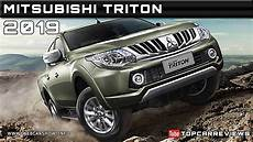 2019 mitsubishi triton specs 2019 mitsubishi triton review rendered price specs release