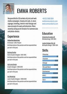 eresume template infographic resume template venngage