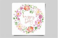 Water Color Cards Set Of Watercolor Greeting Cards Card Templates