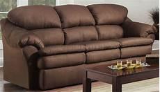 chocolate microfiber modern sofa loveseat set w pillow arms