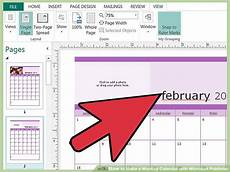 How To Make A Monthly Calendar In Word How To Make A Monthly Calendar With Microsoft Publisher