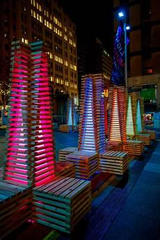 Outdoor Lighting Sydney Vivid Sydney Lights Up The City With Colorful