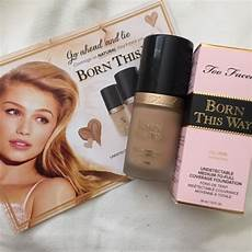 Born This Way Light Beige Review Feedurpassion First Impression Review Too Faced Born This