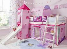 cabin bed mid sleeper pine bed with slide fairies