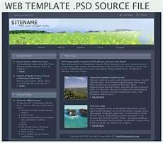 Webtemplate Psd Web Template Psd By Ctznfish On Deviantart