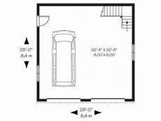 Floor Plan Car 2 Car Garage Plans Traditional Two Car Garage Loft Plan