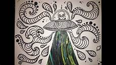 Trippy Drawings How To Make Trippy Space Art Youtube
