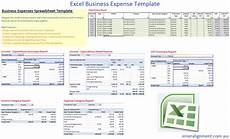 Small Business Expenses Template Excel Free Business Expense Template Inner Alignment