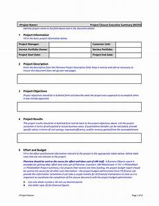 Project Summary Template 30 Perfect Executive Summary Examples Amp Templates ᐅ