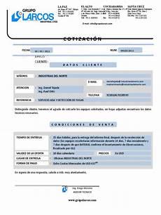 Formato Para Cotizacion En Word Modelo De Cotizacion En Word