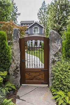 Backyard Gate Design Ideas The Perfect Mix Of Wood And Metal Customize This Gate To