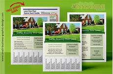 Lawn Maintenance Flyers Printable Lawn Care Business Flyer Templates