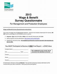 Survey Benefit Free 2 Employee Benefits Survey Forms In Pdf Ms Word