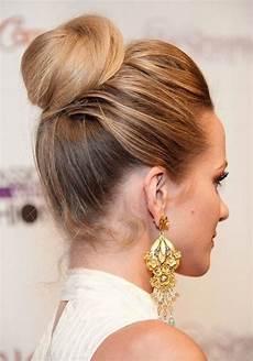 cute bun hairstyles 2014 twisted updo hairstyle hair