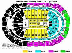 One Direction Seating Chart One Direction Pnc Arena