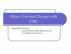 Atm Object Oriented Design A Amp D Object Oriented Design Using Uml