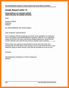 Example Of Written Report About An Incident 6 Incident Report Letter Examples Pdf Examples