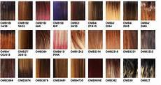 Boss Weave Color Chart Ombre Sombre Color Charts