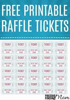Sheets Of Raffle Tickets Free Printable Raffle Tickets