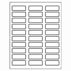 Avery 30 Labels Template Templates Mailing Labels 30 Per Sheet Adobe Indesign