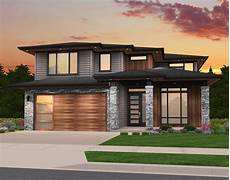 rosy house plan modern two story house plan by stewart