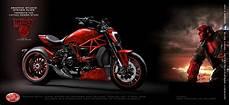 Red S Custom Design Virtual Tuning Ducati Xdiavel Hellboy