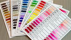 Zig Real Brush Color Chart Zig Clean Color Real Brush Pens Q Amp A Youtube