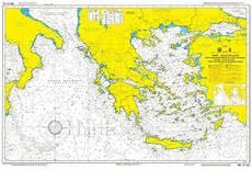Aegean Nautical Charts Aegean Amp Ionian Seas Nautical Chart Hartis Org Sailing