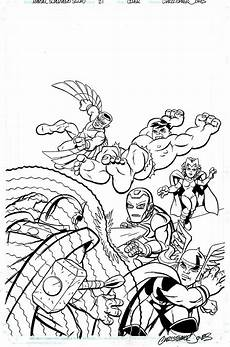Malvorlagen Superhelden Marvel Squad Coloring Pages