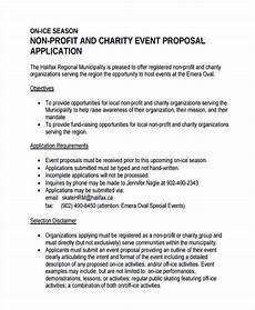 Non Profit Sponsorship Proposal Template Event Proposal Example