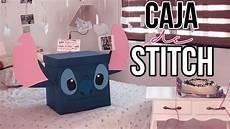 diy caja de stitch