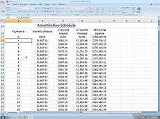 Loan Amortisation Table Excel Amortization In Excel Part 3 Dynamic Amortization