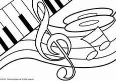 malvorlage thema musik kostenlose ausmalbilder zum