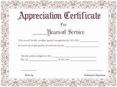 Social Service Certificate Format 9 Loyalty Award Certificate Examples Pdf Examples