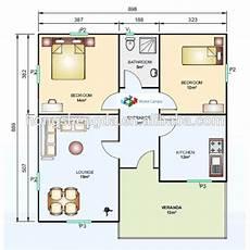 100m2 modern prefab steel frame house plans view 100m2