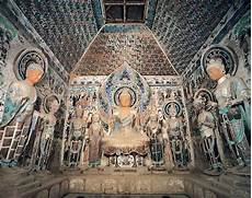 dunhuang frescoes mogao caves and the silk road