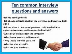 Typical Interview Questions 10 Of The Most Common Interview Questions Asie Personnel