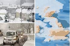 Snow Chart 2017 Snow Forecast Uk 2017 Arctic Blizzards To Savage Uk This