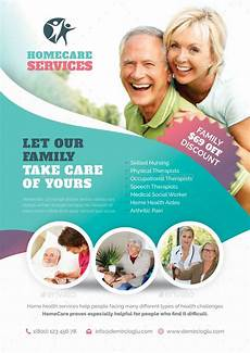 Home Care Flyer Home Care Flyer Bundle Templates Home Health Aide Home