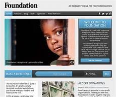 Foundation Themes Foundation By Organized Themes Non Profit Wordpress Theme