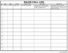 Sales Log Template 9 Free Sample Sales Log Templates Printable Samples