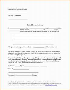 Power Of Attorney Letter Sample Authorization Attorney Authorization Letter Salescv Info