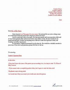 Who Makes A Good Reference Letter Of Reference Example View Pdf Template