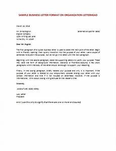 Business English Letter Sample 6 Samples Of Business Letter Format To Write A Perfect
