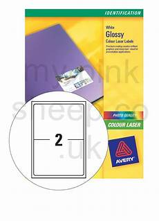 Avery 2 Labels Per Sheet Avery Addressing Labels Colour Laser 2 Per Sheet 199 6x143