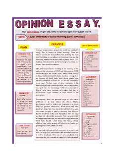 Causes And Effects Of Global Warming Essay Opinion Essay Causes And Effects Of Global Warming