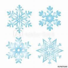 eiskristalle sammlung schneeflocken zur