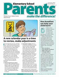 Sample Newsletters For Parents News And Events Parent Newsletter
